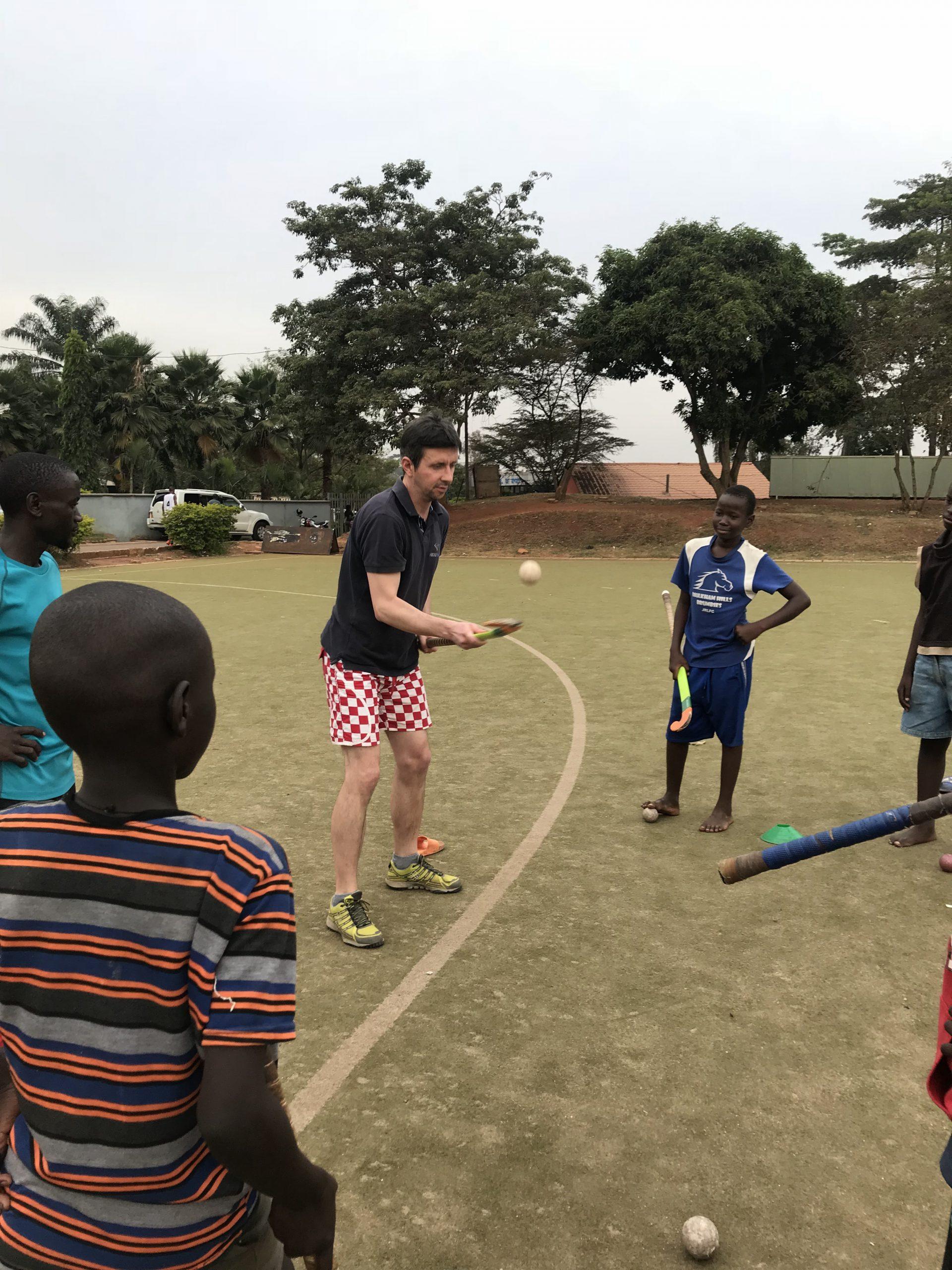 Tomislav in Uganda