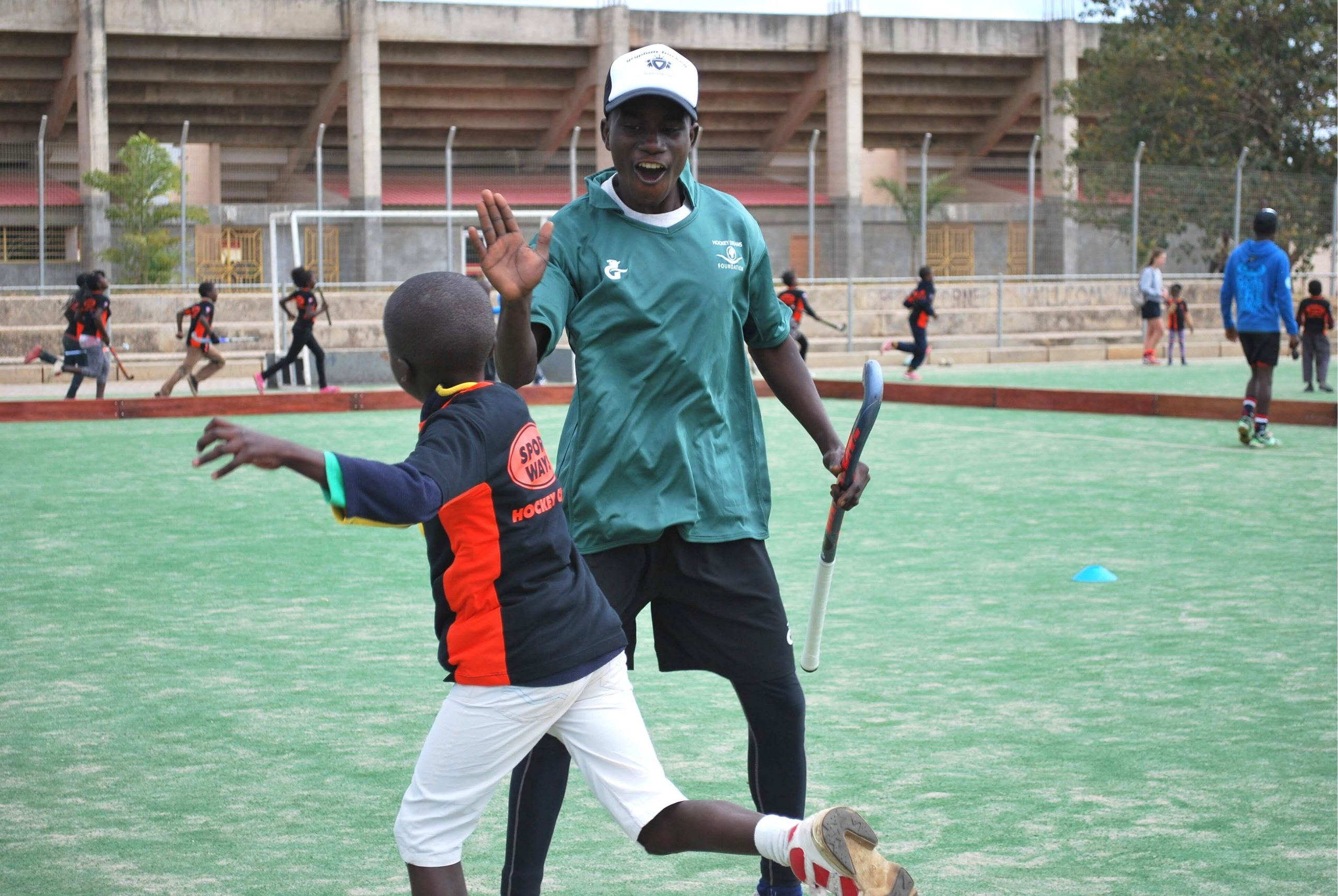 Meet the Coaches: Zambian Coach Godfrey