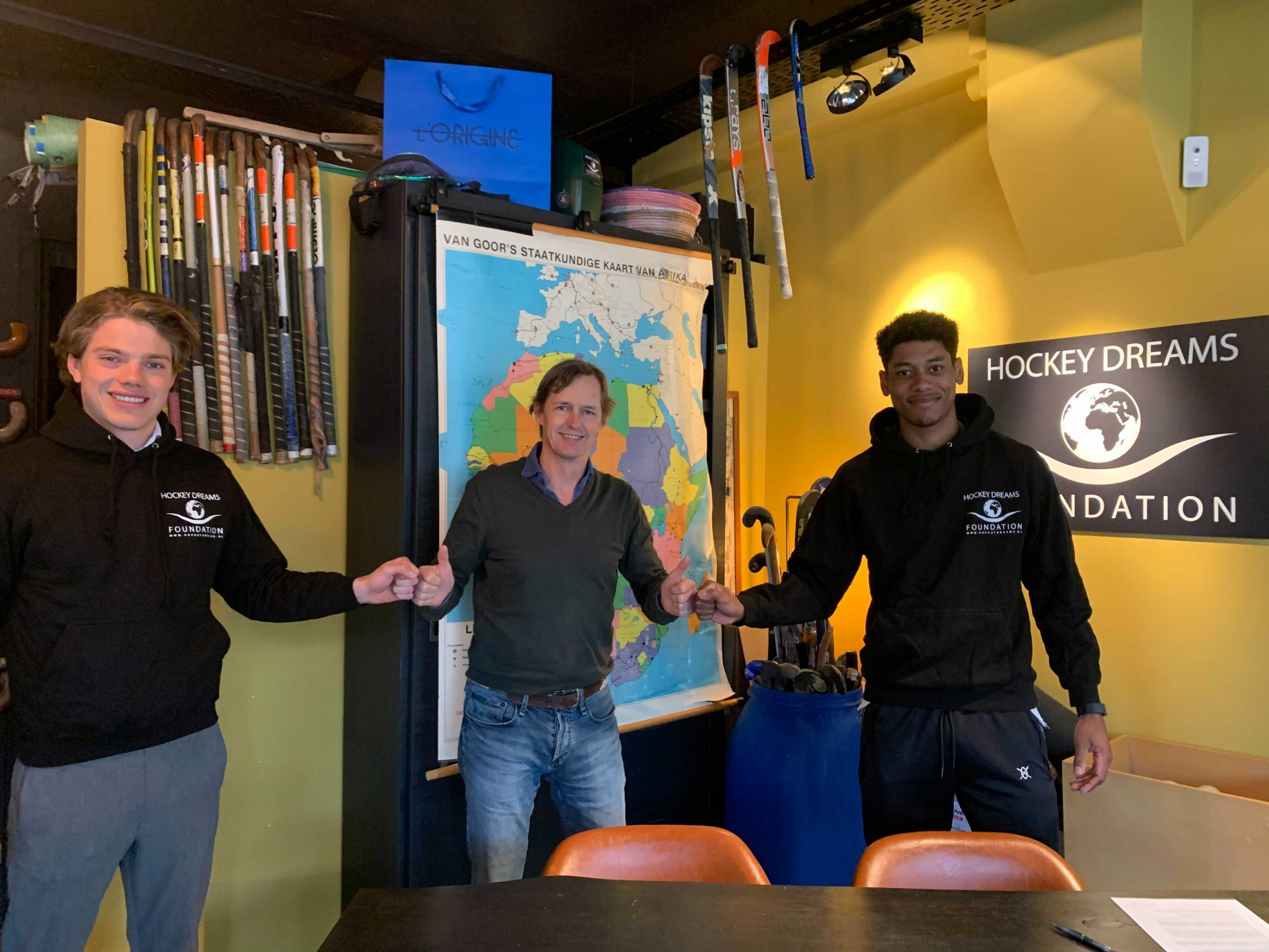 Terrance Pieters and Derck de Vilder join Hockey Dreams Foundation as Ambassadors